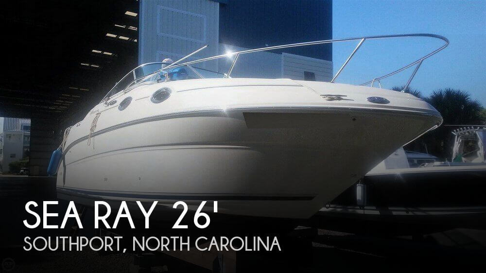 Used Sea Ray Boats For Sale in North Carolina by owner | 2003 Sea Ray 240 SUNDANCER