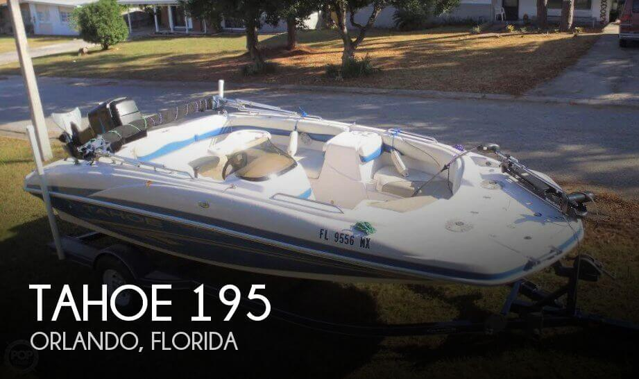 Used Deck Boats For Sale by owner | 2005 Tahoe 19