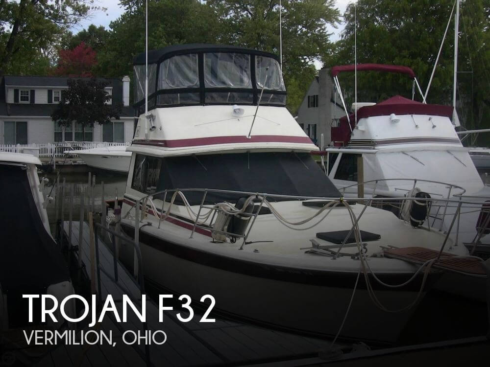 Used Fishing boats For Sale in Ohio by owner | 1982 Trojan F32