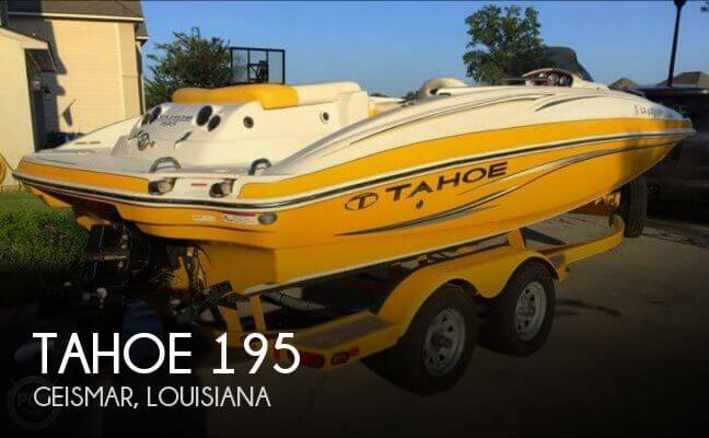 Used Tahoe Deck Boats For Sale by owner | 2011 Tahoe 19