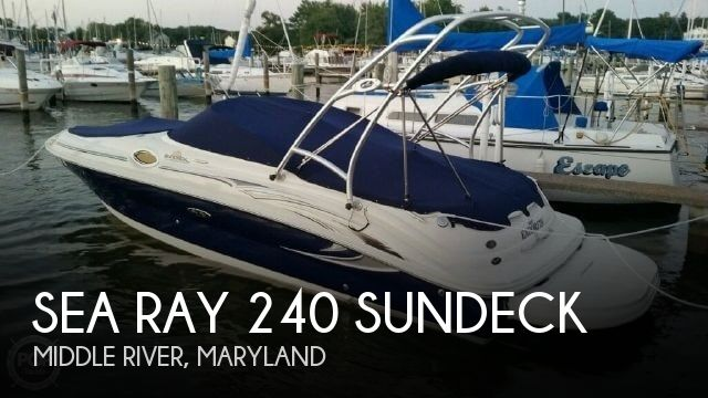Used Sea Ray Boats For Sale in Maryland by owner | 2005 Sea Ray 240 Sundeck