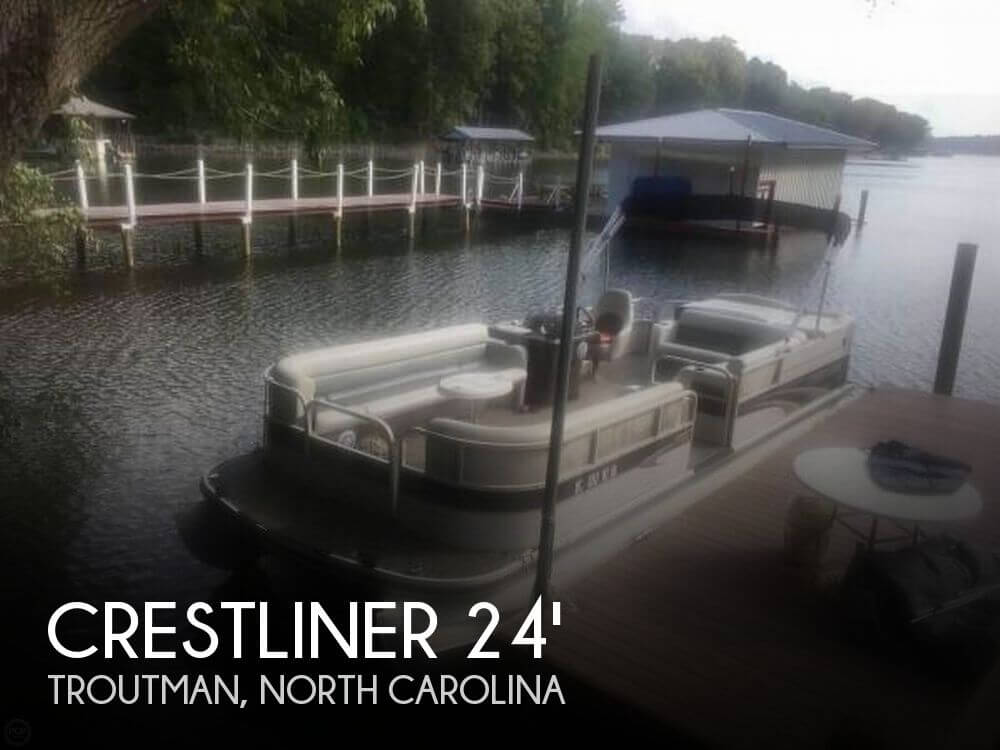 Used Crestliner Boats For Sale by owner | 2004 Crestliner 2485 LSI Tritoon