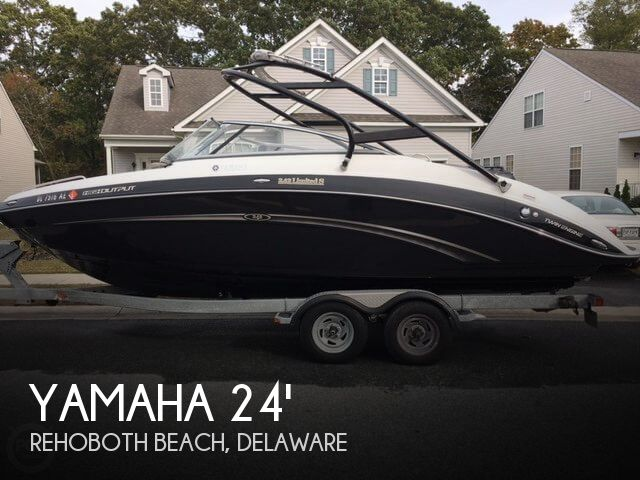Used Boats For Sale in Delaware by owner | 2013 Yamaha 24
