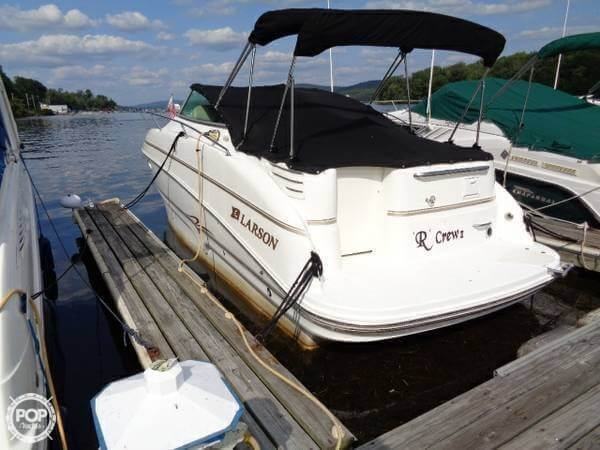 sold larson cabrio 274 boat in ringwood nj 138166 rh popyachts com Larson Boats FX Larson Boat Emblem