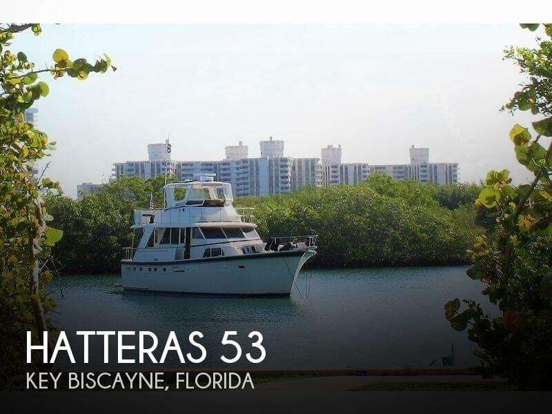 Used Motoryachts For Sale in Florida by owner | 1977 Hatteras 53