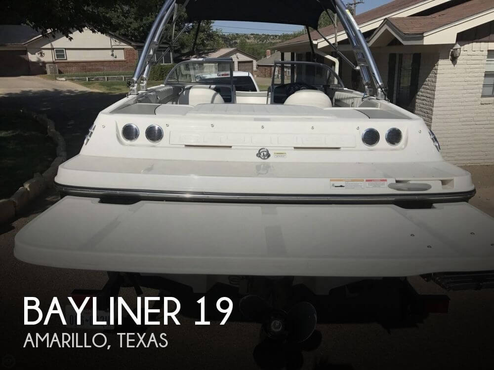Used Bayliner Boats For Sale in Texas by owner | 2013 Bayliner 19