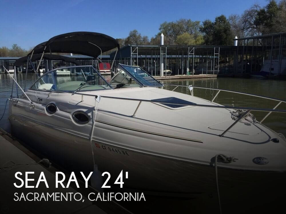 Used Sea Ray Boats For Sale in California by owner   2004 Sea Ray 24