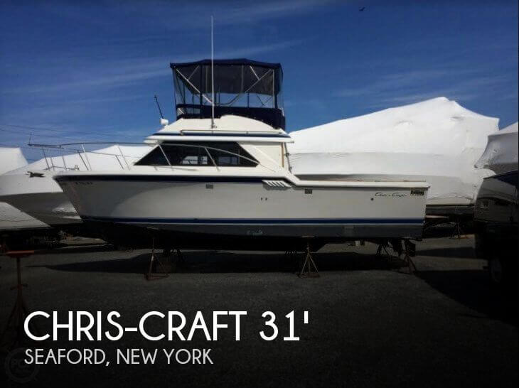 Used Chris-Craft Boats For Sale in New York by owner | 1990 Chris-Craft 31