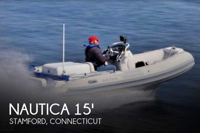 2003 NAUTICA 15 DIESEL I/O RIB for sale