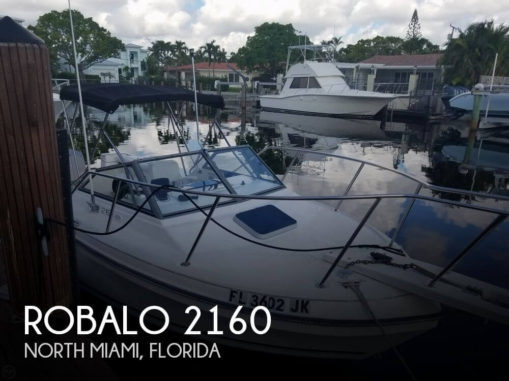 Used 21 Boats For Sale by owner   1994 Robalo 2160