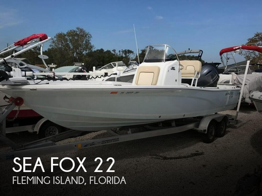Used Sea Fox Boats For Sale in Florida by owner | 2017 Sea Fox 22