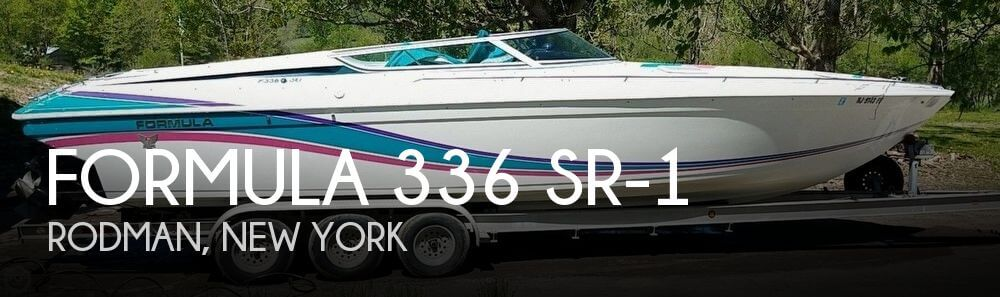 Used Boats For Sale in Utica, New York by owner | 1993 Formula 35