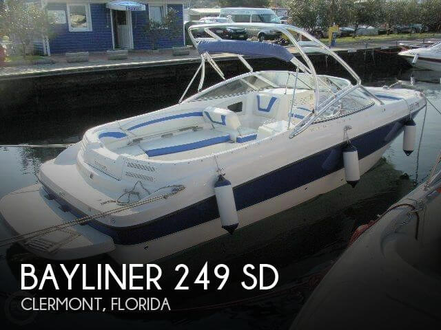 Used Deck Boats For Sale by owner | 2005 Bayliner 26