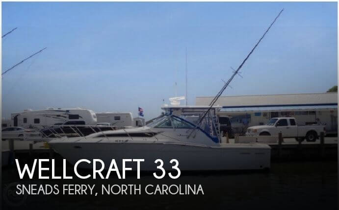 Used Wellcraft Boats For Sale in North Carolina by owner   1996 Wellcraft 33