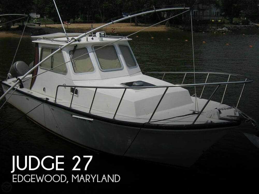Used Boats For Sale in Harrisburg, Pennsylvania by owner | 2001 Judge 27