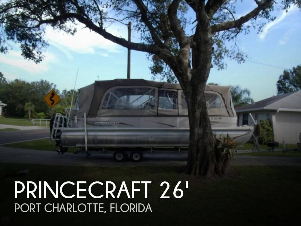 2007 Princecraft boat for sale, model of the boat is Versailles 26 & Image # 1 of 41