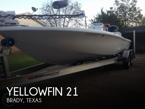 Used Ski Boats For Sale in Texas by owner | 2017 Yellowfin 21