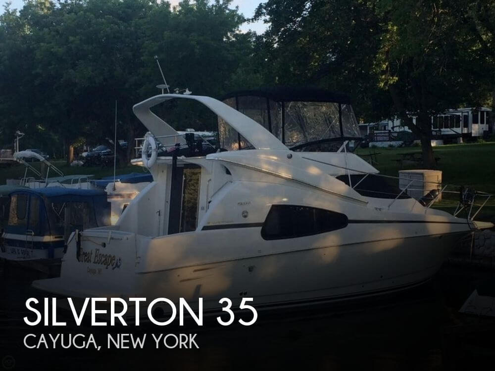 Used Boats For Sale in Syracuse, New York by owner | 2002 Silverton 35