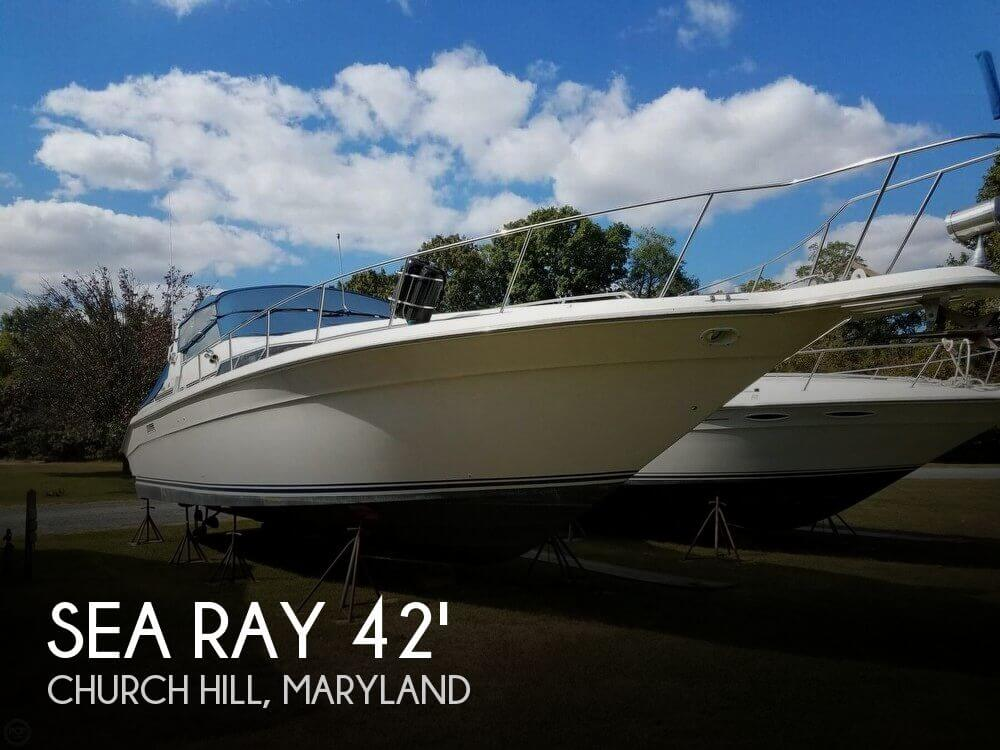 Used Sea Ray Boats For Sale in Maryland by owner | 1991 Sea Ray 420 Sundancer