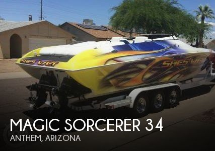 Used Boats For Sale in Arizona by owner | 1999 Magic Sorcerer 34