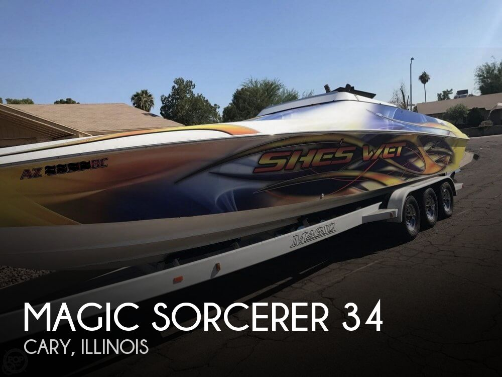 1999 Magic boat for sale, model of the boat is Sorcerer 34 & Image # 1 of 40
