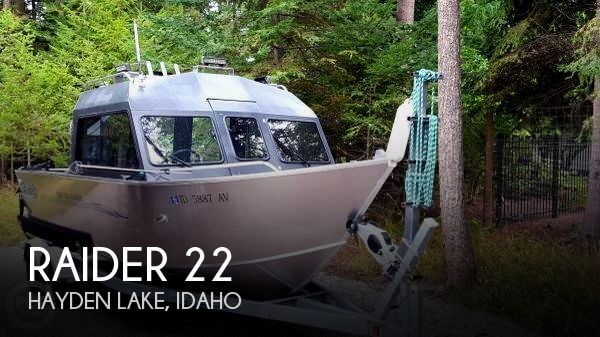 Used Boats For Sale in Idaho by owner | 2011 Raider 22