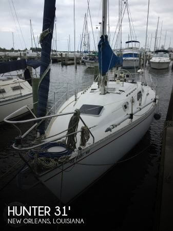 Used Sailboats For Sale in Louisiana by owner | 1987 Hunter 31
