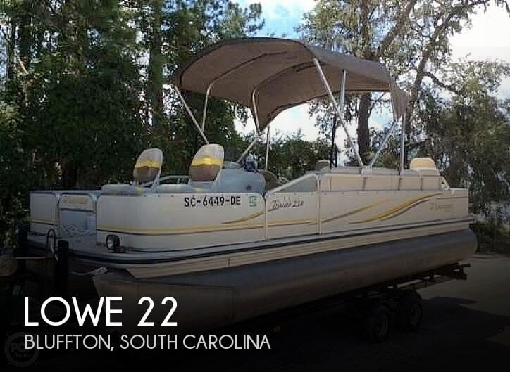 Used Pontoon Boats For Sale in South Carolina by owner | 2007 Lowe 22