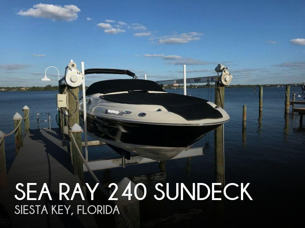 Used Deck Boats For Sale in Florida by owner | 2005 Sea Ray 24