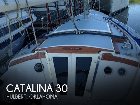 Used Sailboats For Sale in Tulsa, Oklahoma by owner   1975 Catalina 30