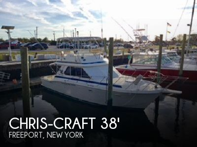 Used Chris-Craft Boats For Sale in New York by owner | 1986 Chris-Craft 38