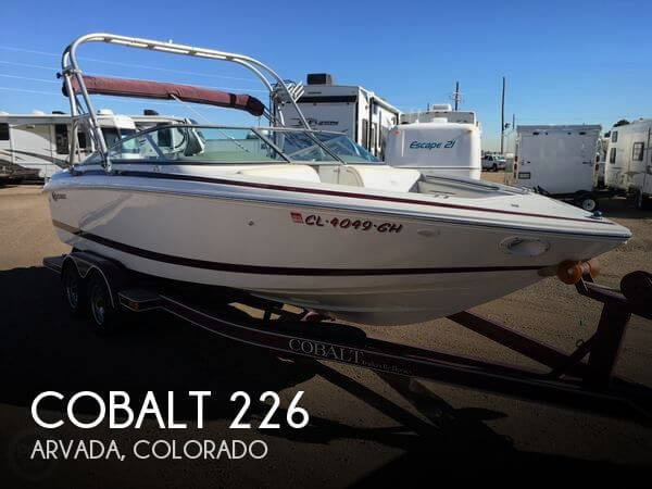 Used Boats For Sale in Fort Collins, Colorado by owner | 2001 Cobalt 23