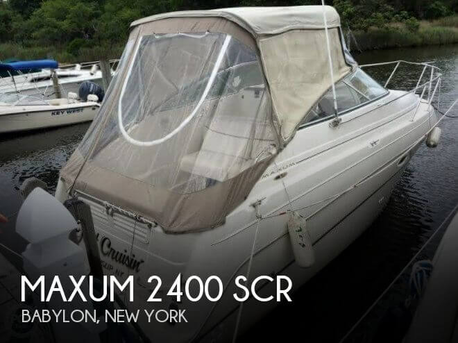 Used Maxum Boats For Sale in New York by owner | 2001 Maxum 24