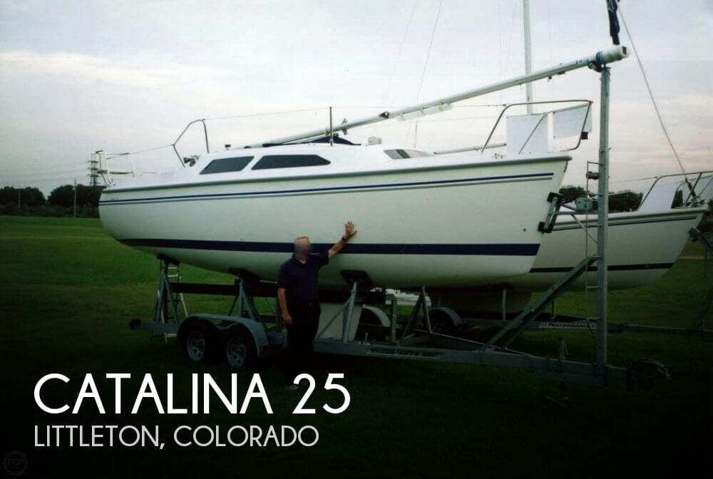 Used Boats For Sale in Colorado Springs, Colorado by owner | 2004 Catalina 25