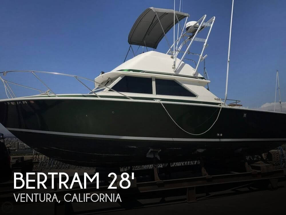 1976 Bertram 28 Sport Fisherman