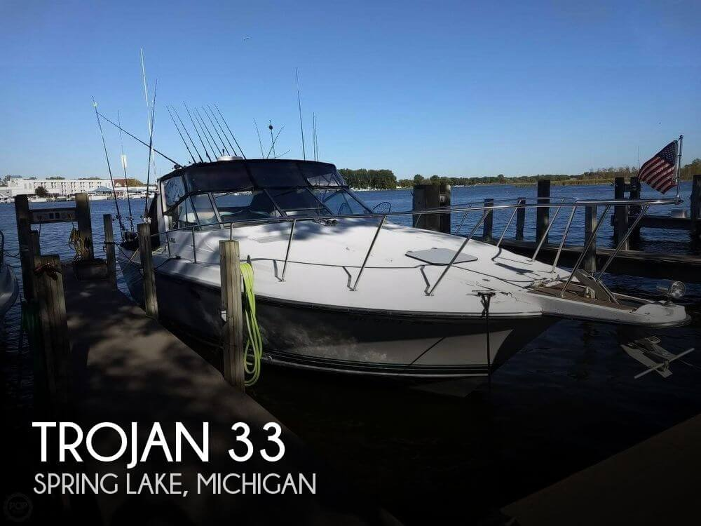 Used Boats For Sale in Grand Rapids, Michigan by owner | 1988 Trojan 33