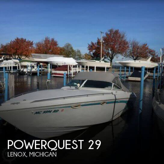Used Powerquest Boats For Sale in Michigan by owner | 1995 Powerquest 29