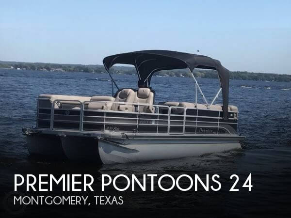 Used Pontoon Boats For Sale in Texas by owner | 2009 Premier Pontoons 24