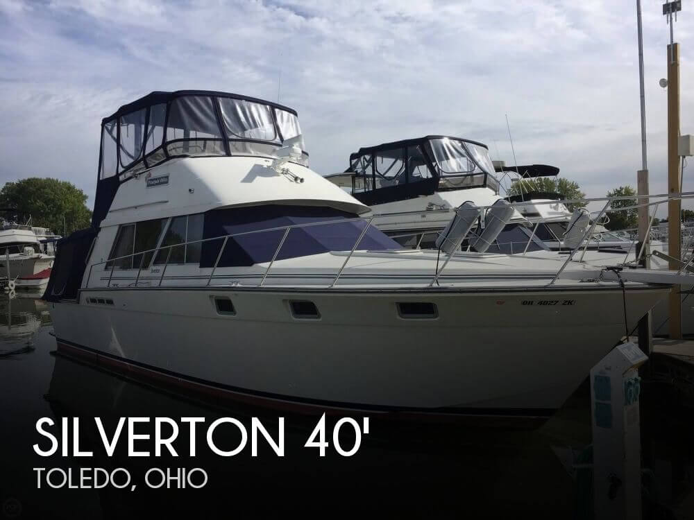 Used Fishing boats For Sale in Ohio by owner | 1989 Silverton 40