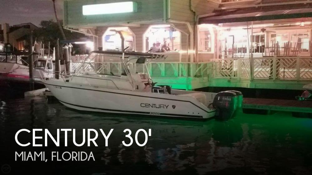 Used Century Boats For Sale by owner   2000 Century 30