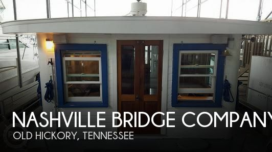 Used Houseboats For Sale in Tennessee by owner | 1959 Nashville Bridge Company 38