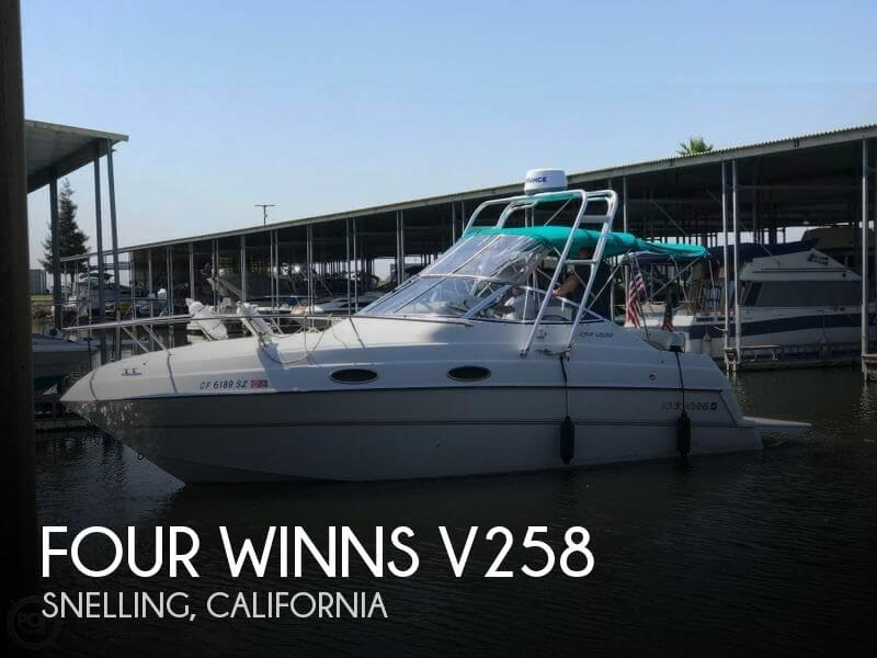 Used Boats For Sale in Fresno, California by owner | 1998 Four Winns 25