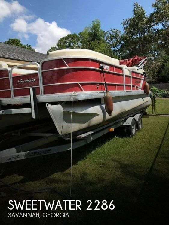 Used Pontoon Boats For Sale in Georgia by owner | 2015 Sweetwater 22