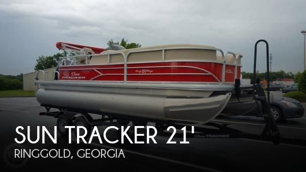 Used Pontoon Boats For Sale in Georgia by owner | 2017 Sun Tracker 21