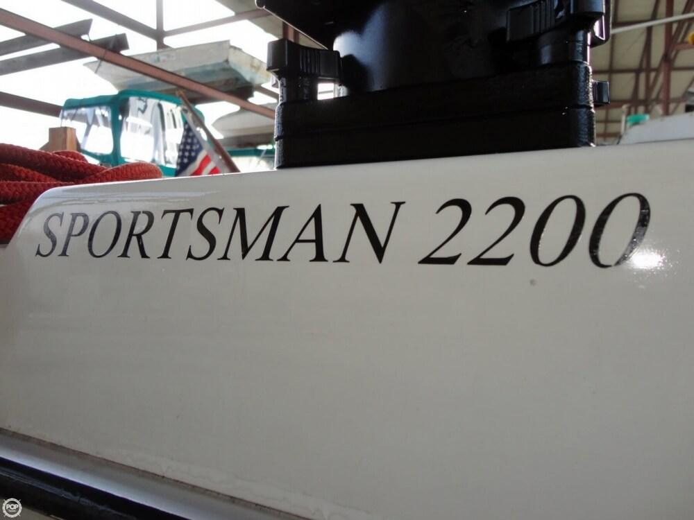 2004 Seasport boat for sale, model of the boat is 2200 Sportsman & Image # 23 of 40
