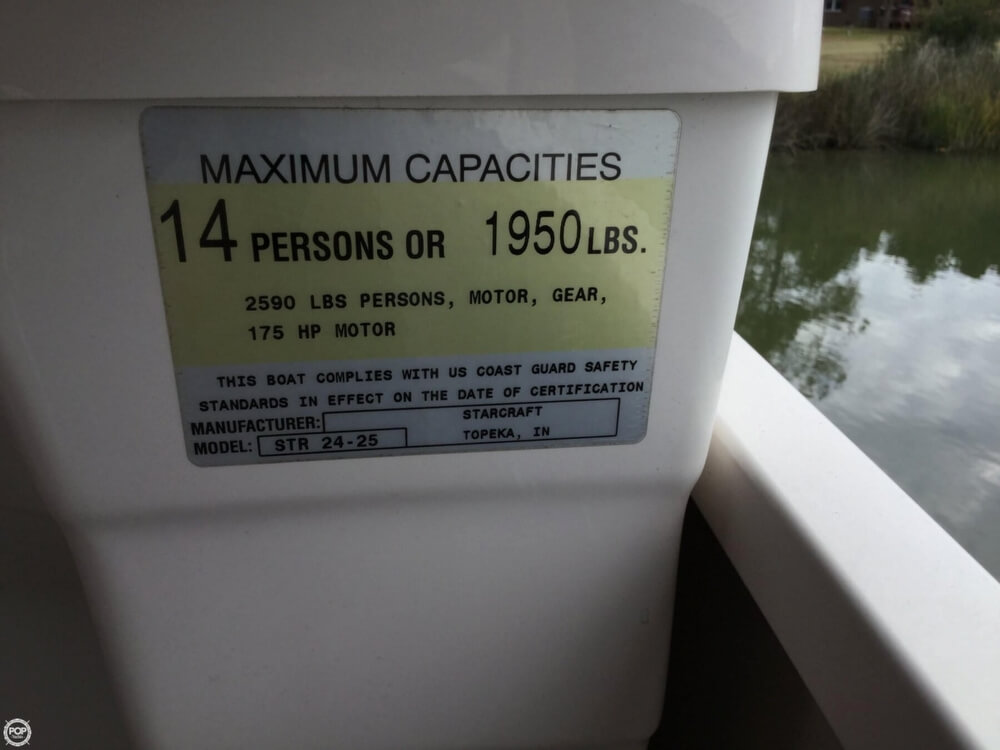 2008 Starcraft boat for sale, model of the boat is Legacy 240 & Image # 37 of 40