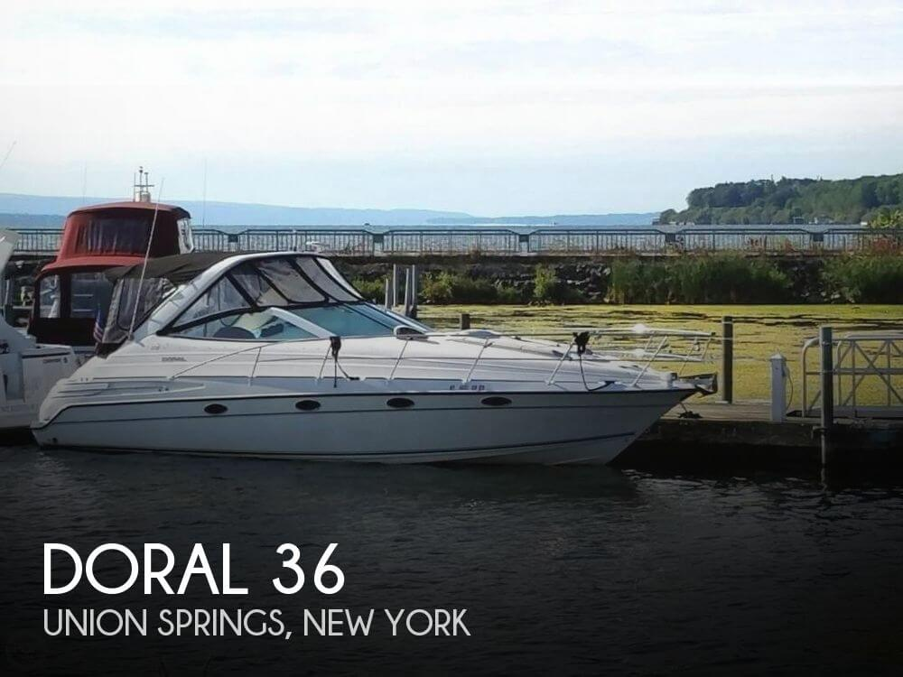 Used Boats For Sale in Syracuse, New York by owner | 1998 Doral 36