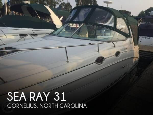 Used Sea Ray Boats For Sale in North Carolina by owner | 2003 Sea Ray 31