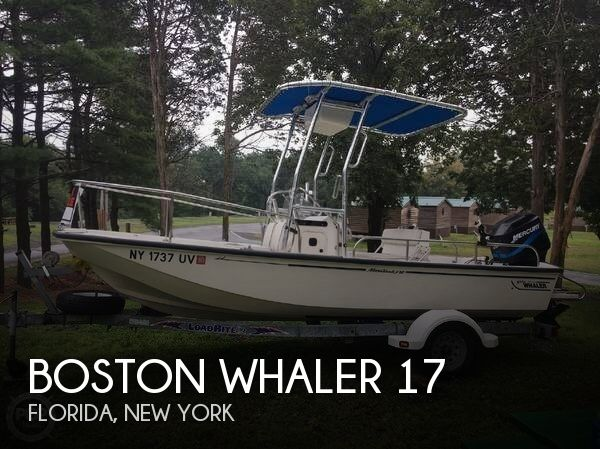 Used Boston Whaler Boats For Sale in New York by owner | 2002 Boston Whaler 17