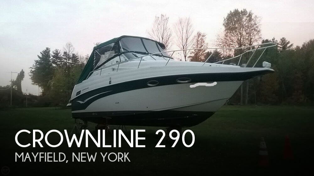 Used Boats For Sale in Albany, New York by owner | 2002 Crownline 29